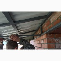 Крыша/Навес на Открытом Балконе