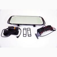DVR L1015 Full HD Зеркало с видео регистратором с камерой заднего вида. 7 Сенсорный экран
