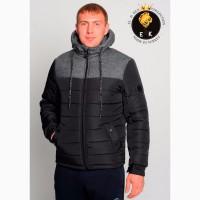 Зимняя куртка ELKEN_ 288 син, черн