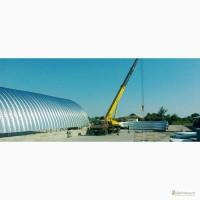 Строительство бескаркасных ангаров, складов под ключ по низким ценам