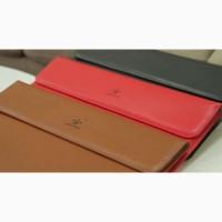 Чехол MacBook Pro Air. Кожаный кейс сумка Макбук Apple 11, 13, 15