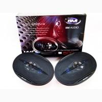 Автоакустика 6x9 BOSCHMANN BM Audio WJ1-S99V4 500W 4х полосные