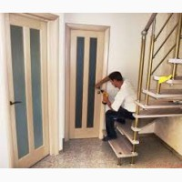 Установка входных и межкомнатных дверей (предлагаю)