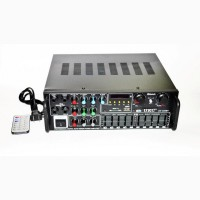 Усилитель звука UKC / Max AV-326BT Bluetooth с караоке и пультом ДУ
