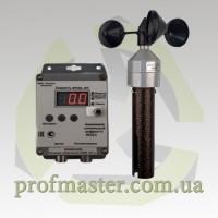 Анемометр АСЦ-3 сигнальный крановый анемометр АСЦ-3 на кран, автовышку, цифровой анемометр