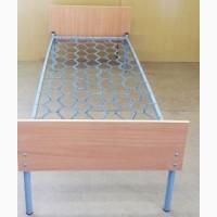 Кровать одноярусная с быльцами ОДСП (190*80)